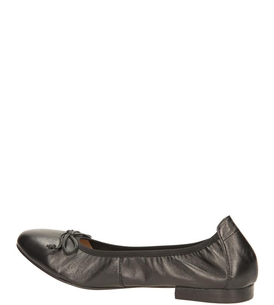 Damskie BALERINY CAPRICE 9-22100-24 czarny;;