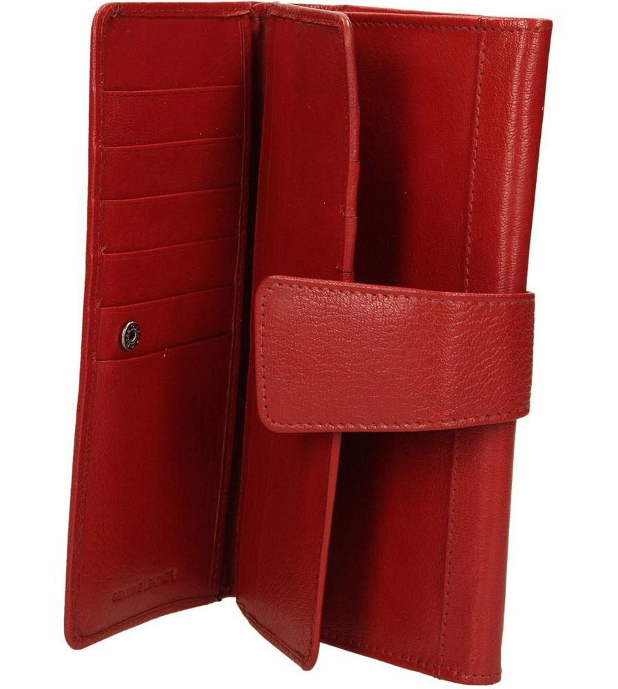 Damskie PORTFEL JL1-CGN czerwony;;