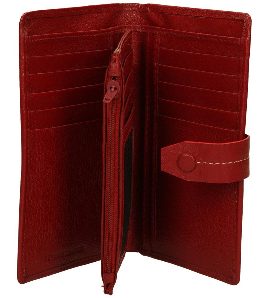 Damskie PORTFEL L24-CGN czerwony;;