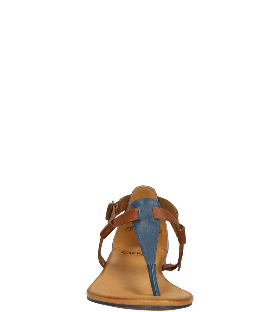 Damskie SANDAŁY CAPRICE 9-28105-24 niebieski;brązowy;
