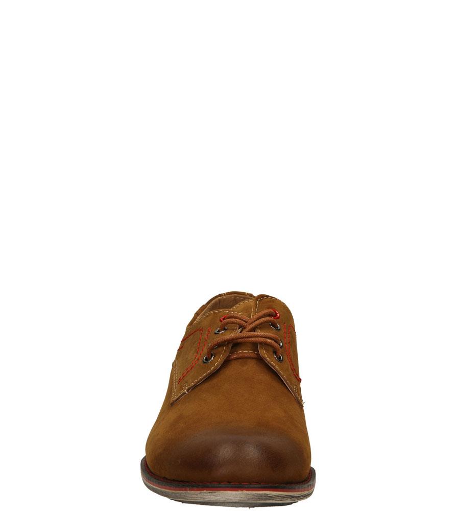 Męskie PÓŁBUTY CASU MXC243-L brązowy;;