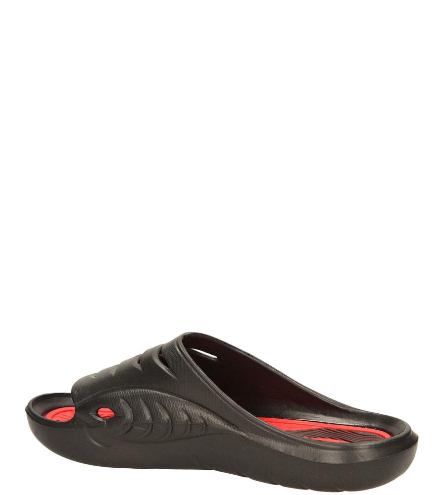 KLAPKI AMERICAN A083-1406068 kolor czarny, czerwony