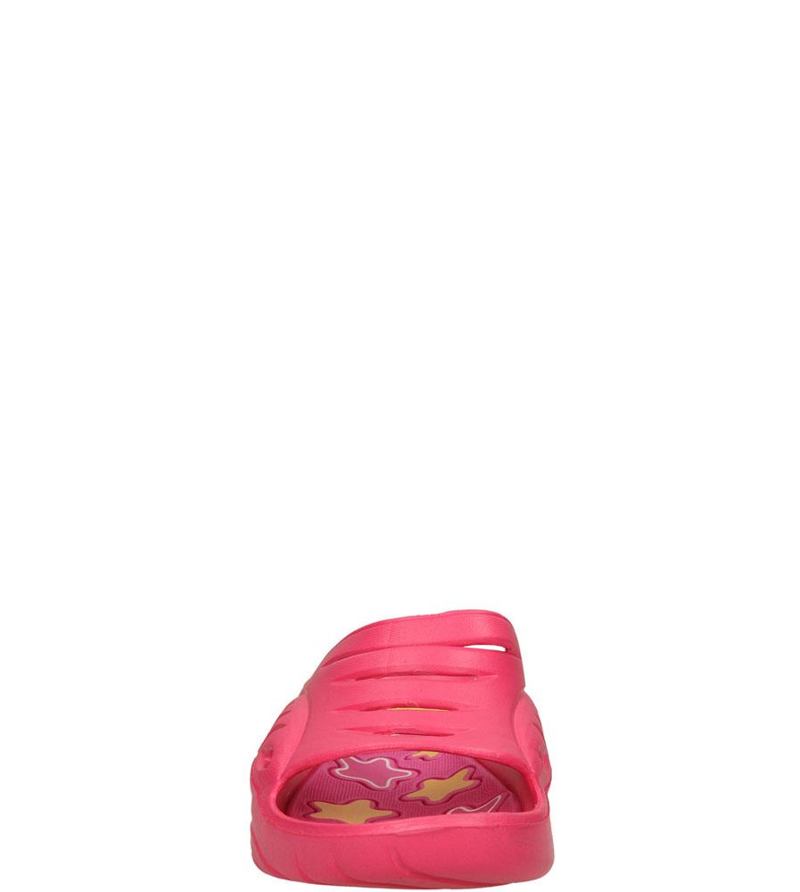 Dziecięce KLAPKI AMERICAN A083-140627-13C różowy;żółty;