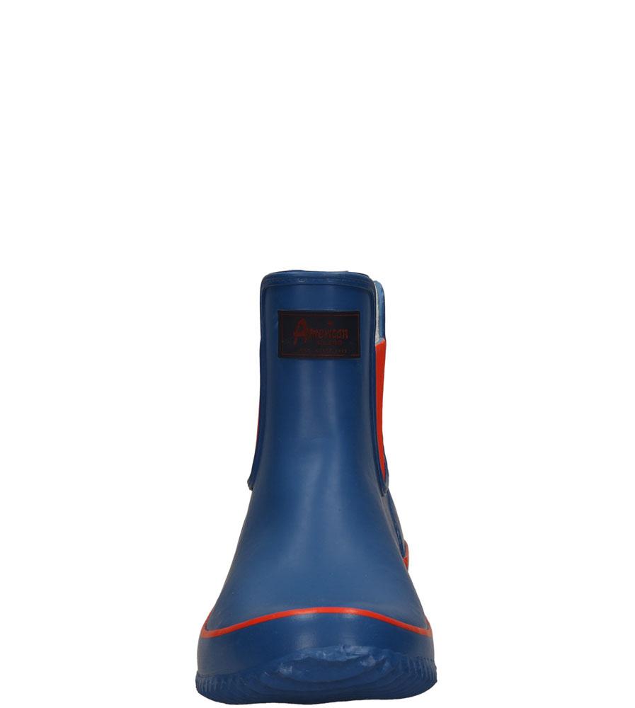 Damskie KALOSZE AMERICAN LR-21 niebieski;czerwony;