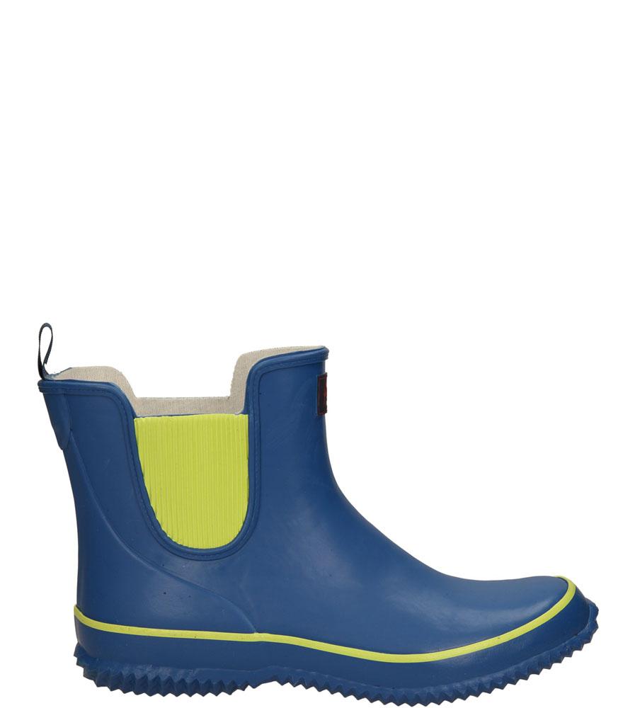 Damskie KALOSZE AMERICAN LR-21 niebieski;żółty;
