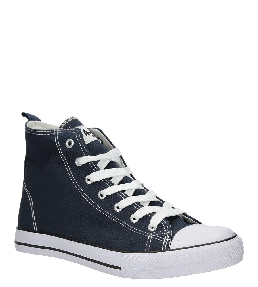 Męskie TRAMPKI AMERICAN LH-14-9120-1 niebieski;biały;