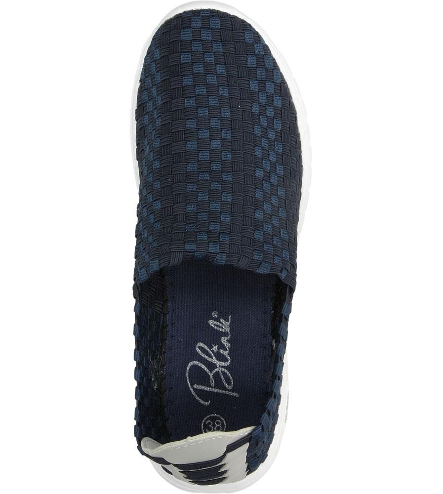 Damskie SPORTOWE BLINK 601410 niebieski;;