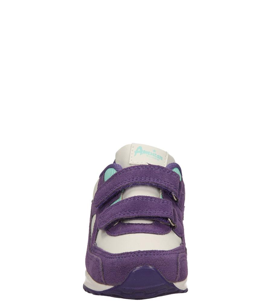 Dziecięce SPORTOWE AMERICAN K13822-3 biały;fioletowy;
