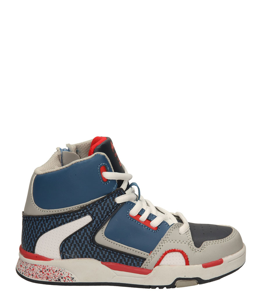 Dziecięce SPORTOWE AMERICAN K1593 szary;niebieski;