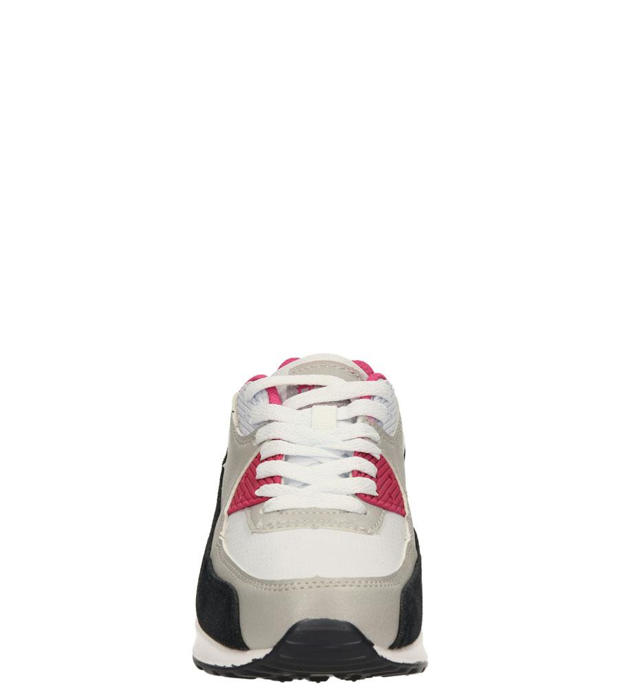 Damskie SPORTOWE AMERICAN 7205 biały;różowy;