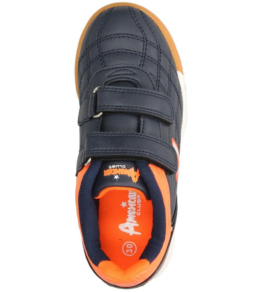 Dziecięce SPORTOWE AMERICAN OGLE-S140704 niebieski;pomarańczowy;