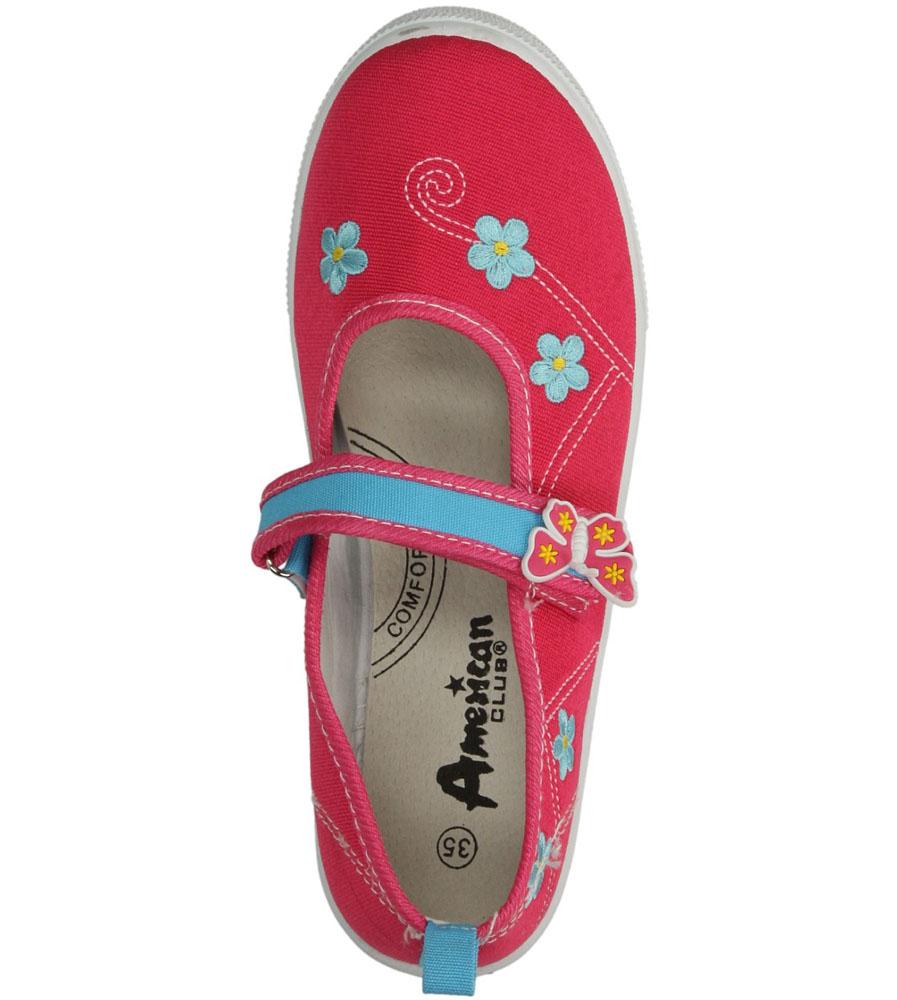 Dziecięce TRAMPKI AMERICAN TEN11/2015 różowy;;