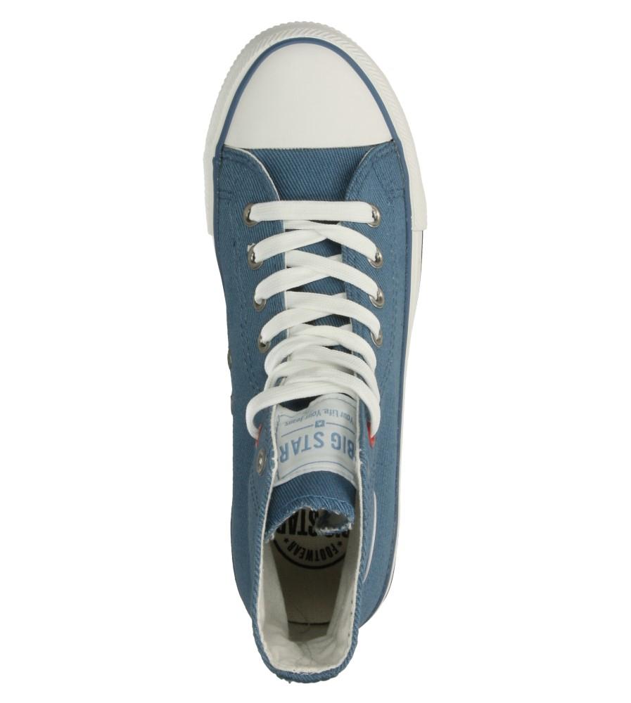Damskie TRAMPKI BIG STAR T274031 niebieski;;