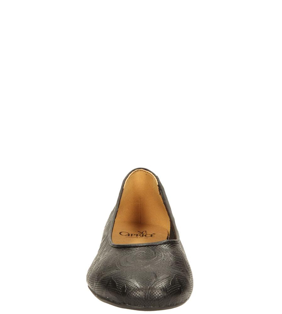Damskie BALERINY CAPRICE 9-22106-24 czarny;;
