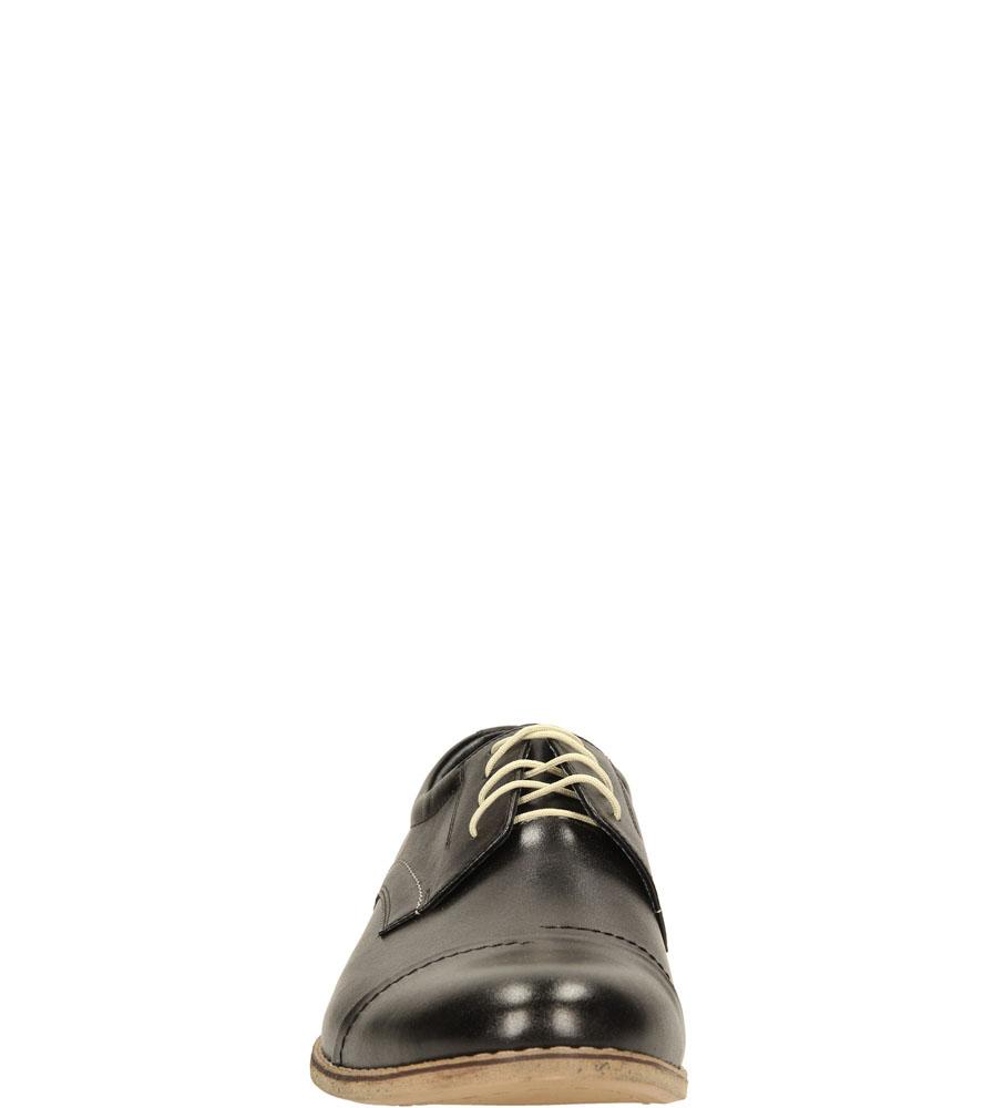 Męskie PÓŁBUTY WINDSSOR 496 czarny;;