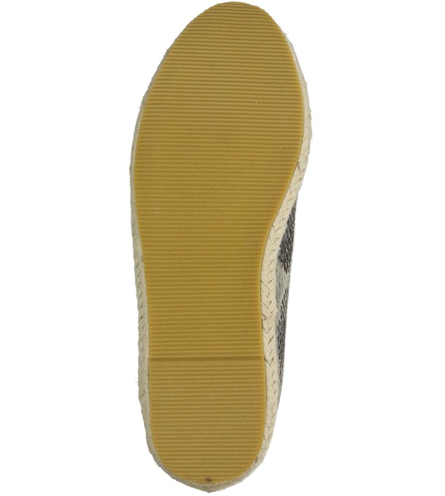ESPADRYLE BLINK 601342 wierzch materiał