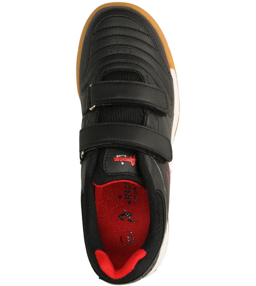 Dziecięce SPORTOWE AMERICAN OGLE-S140701 czarny;czerwony;
