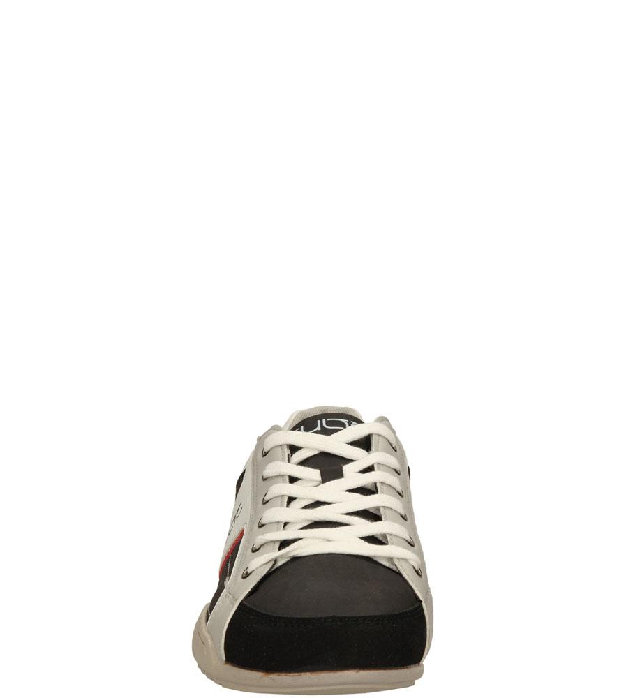 Męskie PÓŁBUTY CASU XA-11219-A1 czarny;biały;