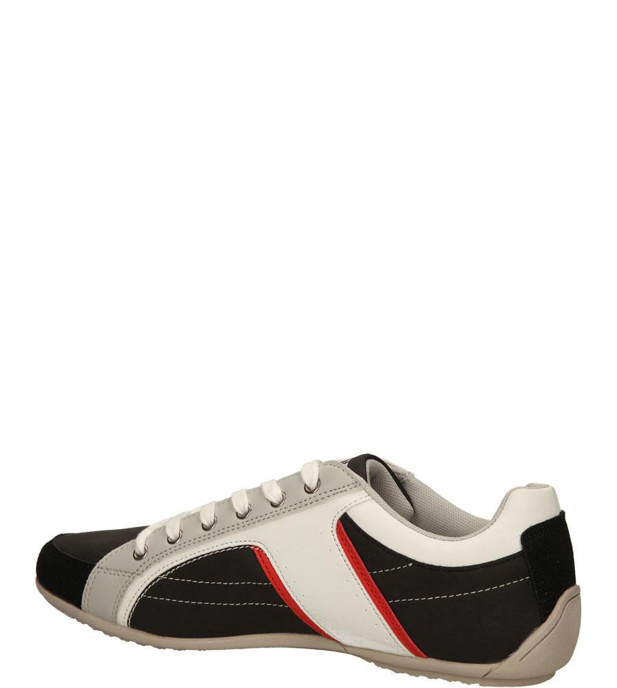 PÓŁBUTY CASU XA-11219-A1 kolor biały, czarny
