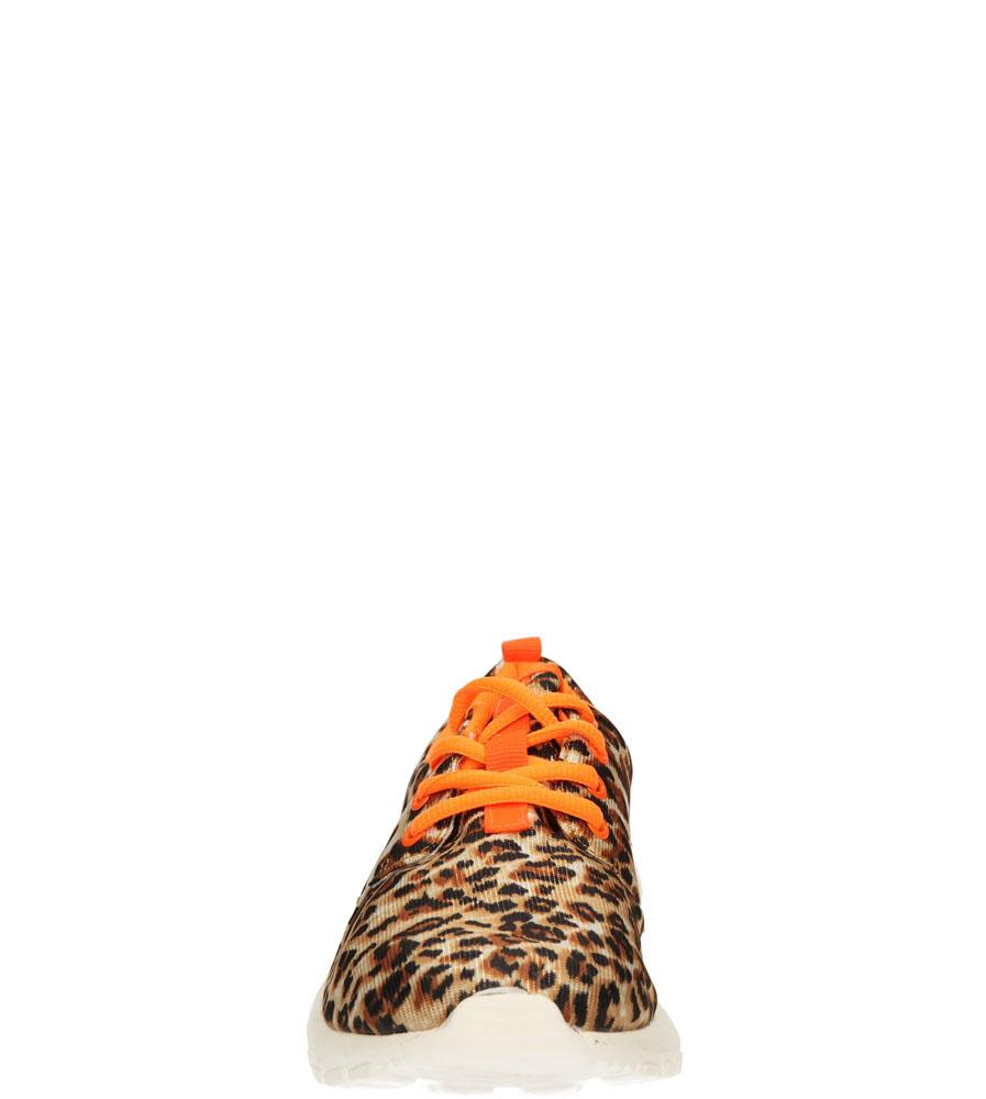 Damskie SPORTOWE CASU 7608 brązowy;beżowy;pomarańczowy