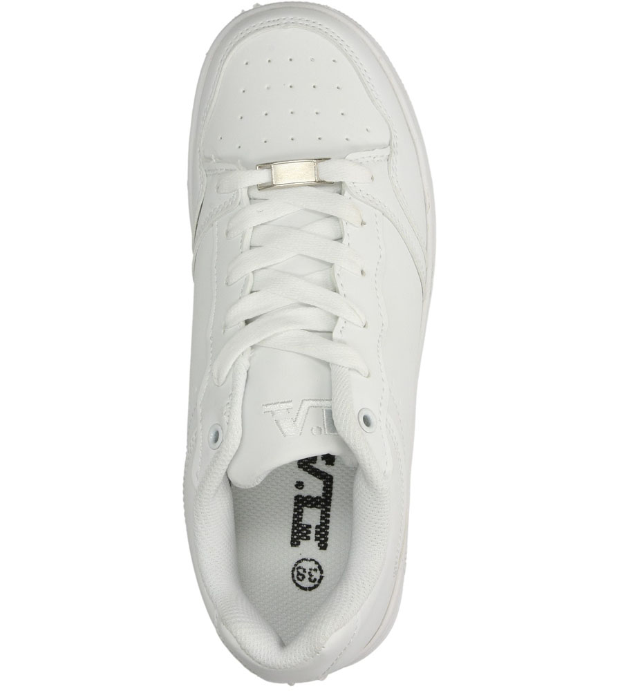 Damskie SPORTOWE CASU C6009-2 biały;;