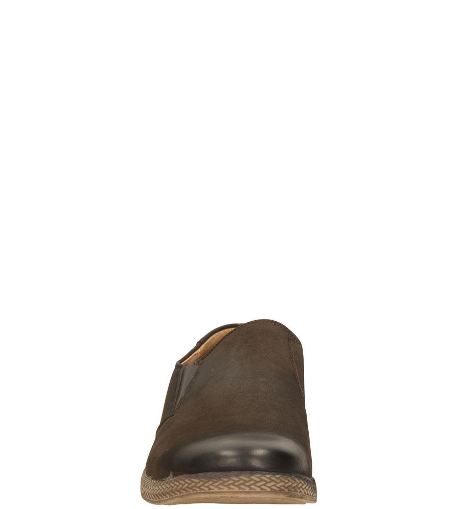 Męskie PÓŁBUTY CASU D5603- brązowy;;