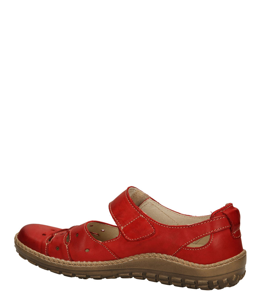 PÓŁBUTY HELIOS 610 kolor czerwony