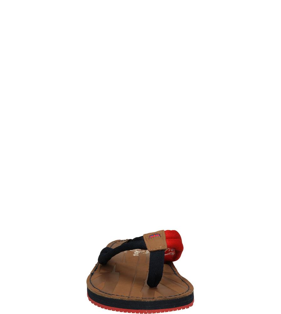 Męskie JAPONKI PEPE JEANS PMS90013 niebieski;czerwony;