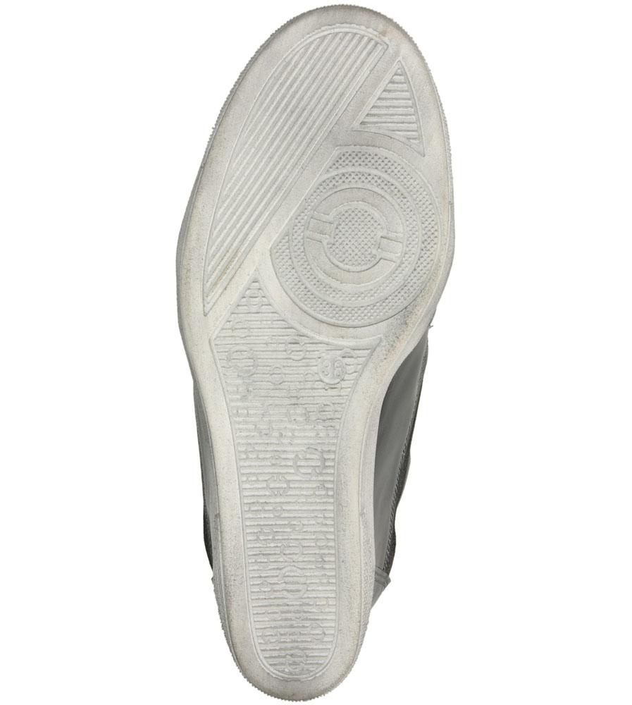 Damskie SNEAKERSY KARINO 1176 szary;srebrny;