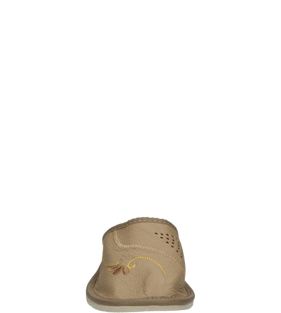 Damskie KAPCIE CASU D-22 beżowy;;
