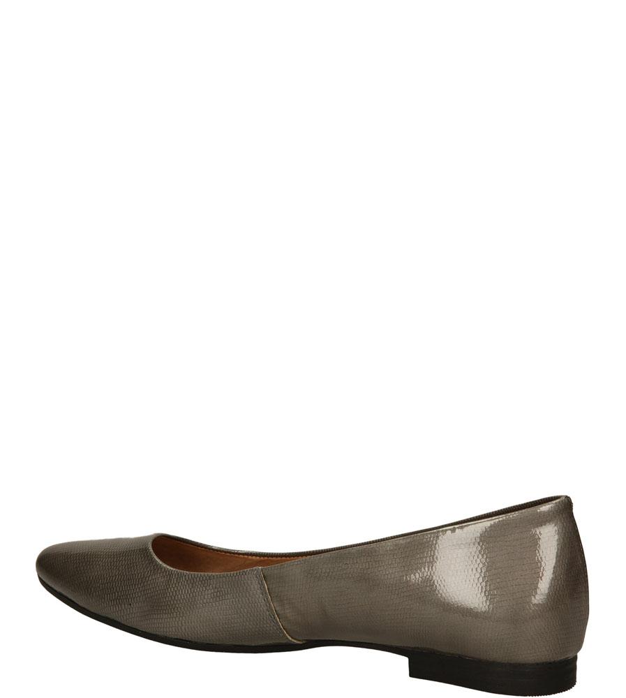 BALERINY MACIEJKA 00873 kolor srebrny