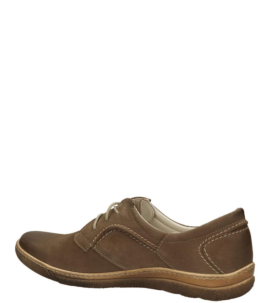 PÓŁBUTY CASU 186 kolor cappucino