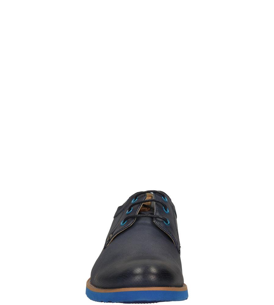 Męskie PÓŁBUTY BIG STAR S174140 niebieski;;