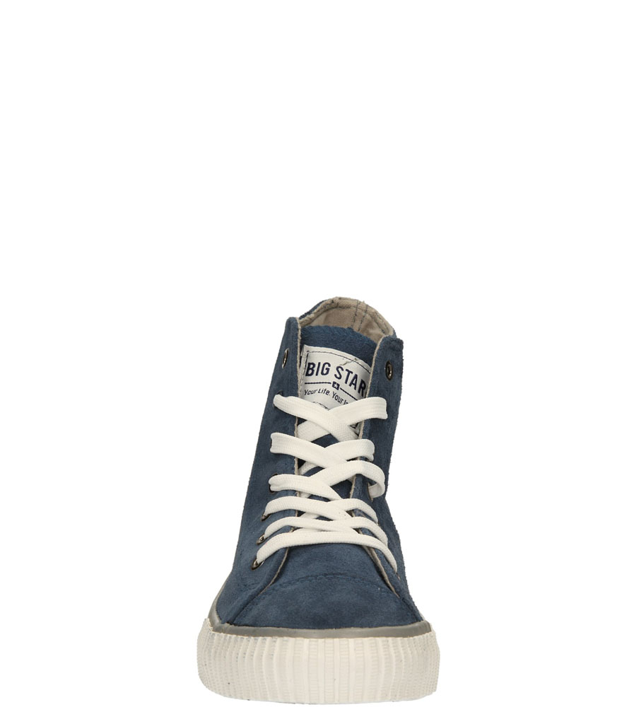 Męskie TRAMPKI BIG STAR S174095 niebieski;;