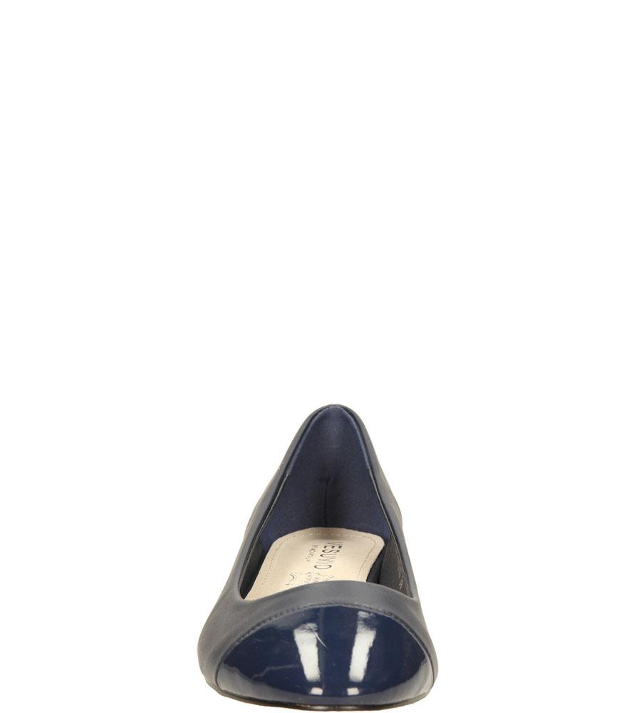 Damskie BALERINY CASU S15-F-PP-02- niebieski;;