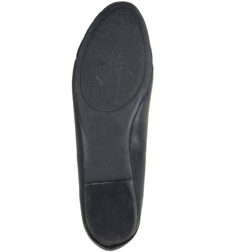 BALERINY CASU S15-F-PP-02- wierzch skóra ekologiczna