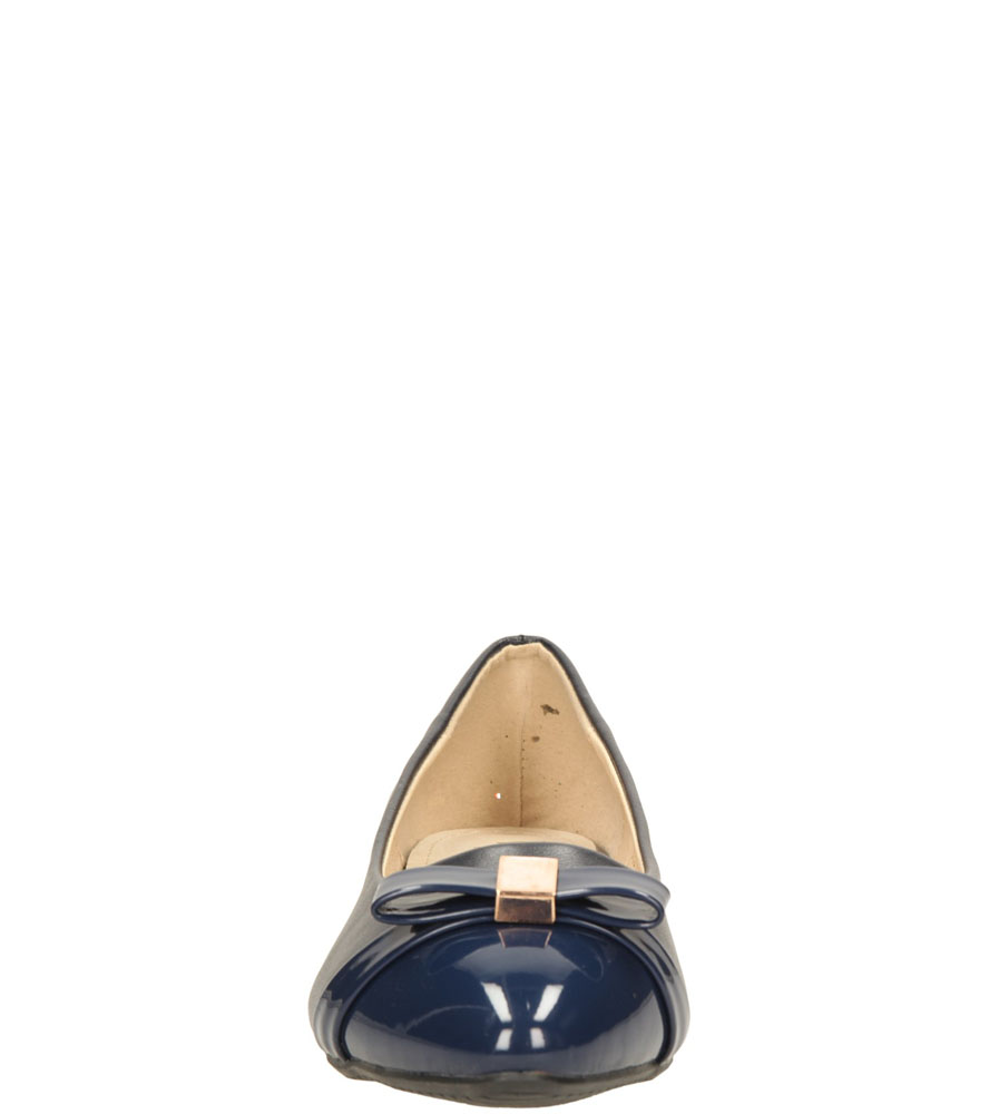 Damskie BALERINY CASU S15-F-LP-08- niebieski;;