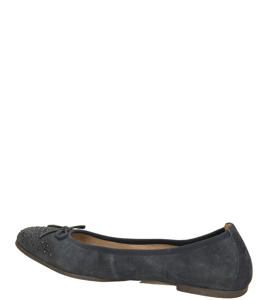Damskie BALERINY S.OLIVER 5-22107-24 niebieski;;