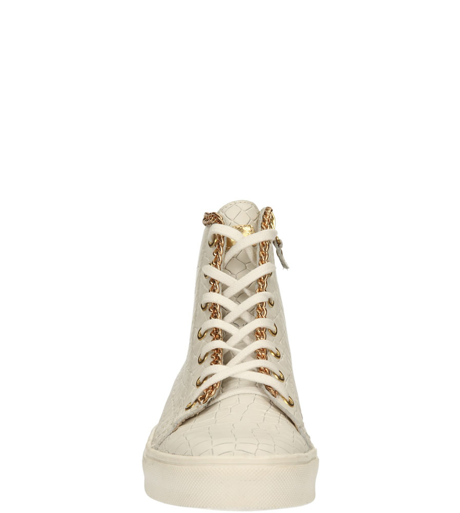 Damskie TRAMPKI CARINII B2757 biały;;