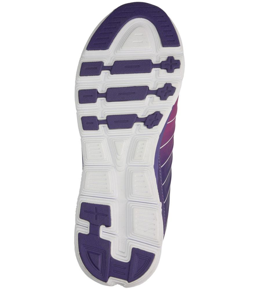 Damskie SPORTOWE AMERICAN BAAS-201 fioletowy;biały;