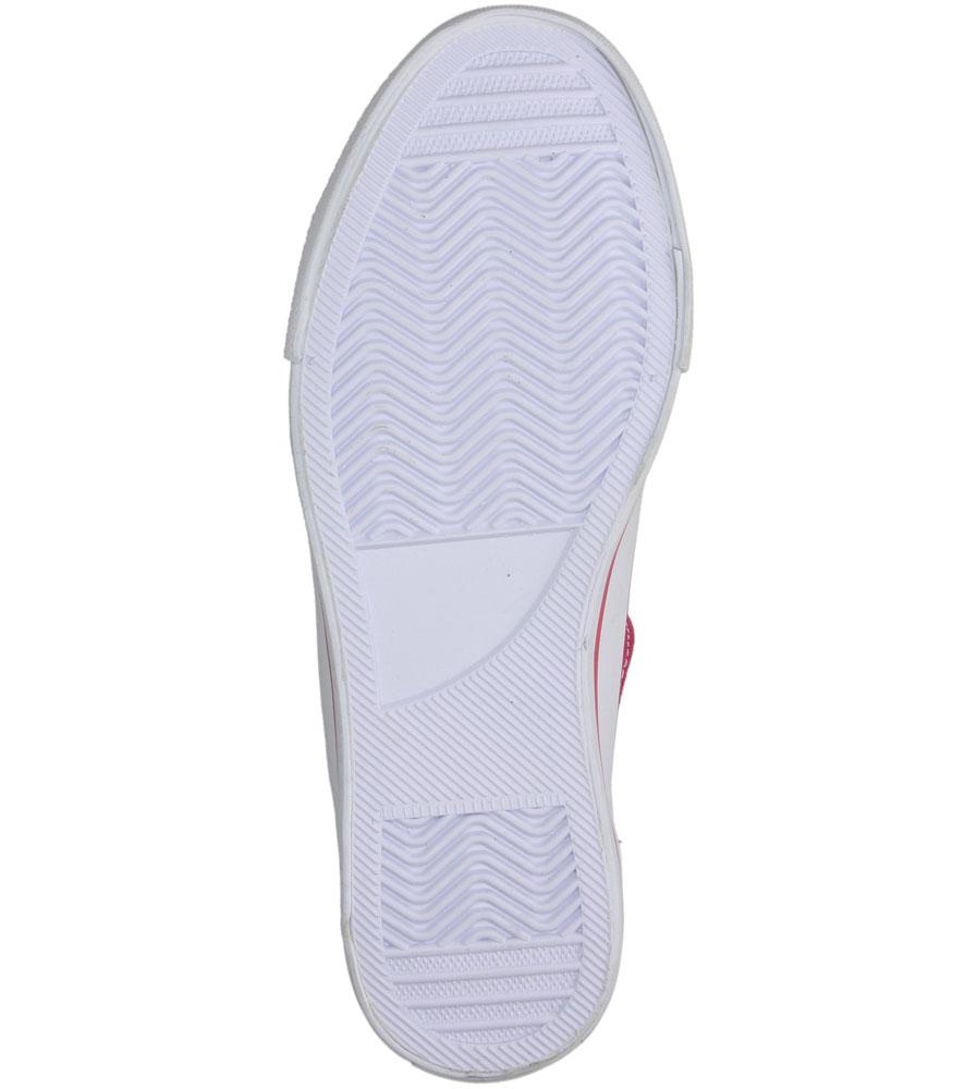 Damskie TRAMPKI AMERICAN LH-9120- różowy;biały;