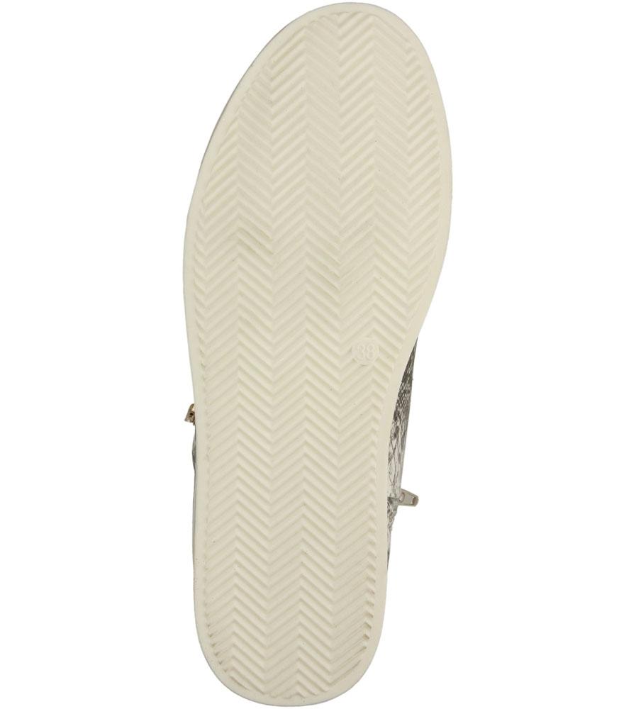 Damskie TRAMPKI S.BARSKI 158 biały;;