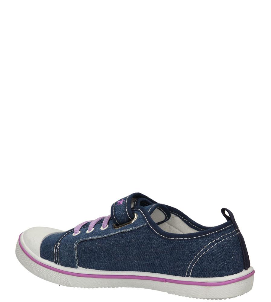 Dziecięce TRAMPKI T1773 niebieski;fioletowy;