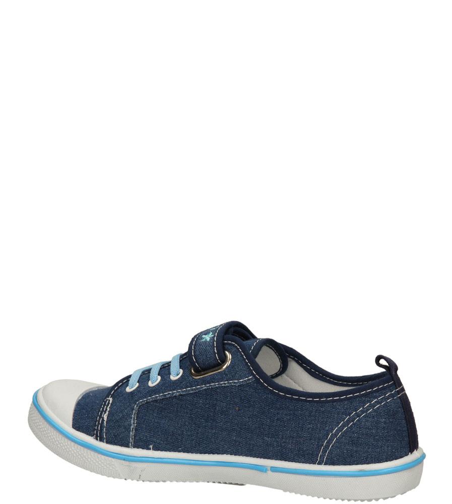Dziecięce TRAMPKI T1773 niebieski;niebieski;