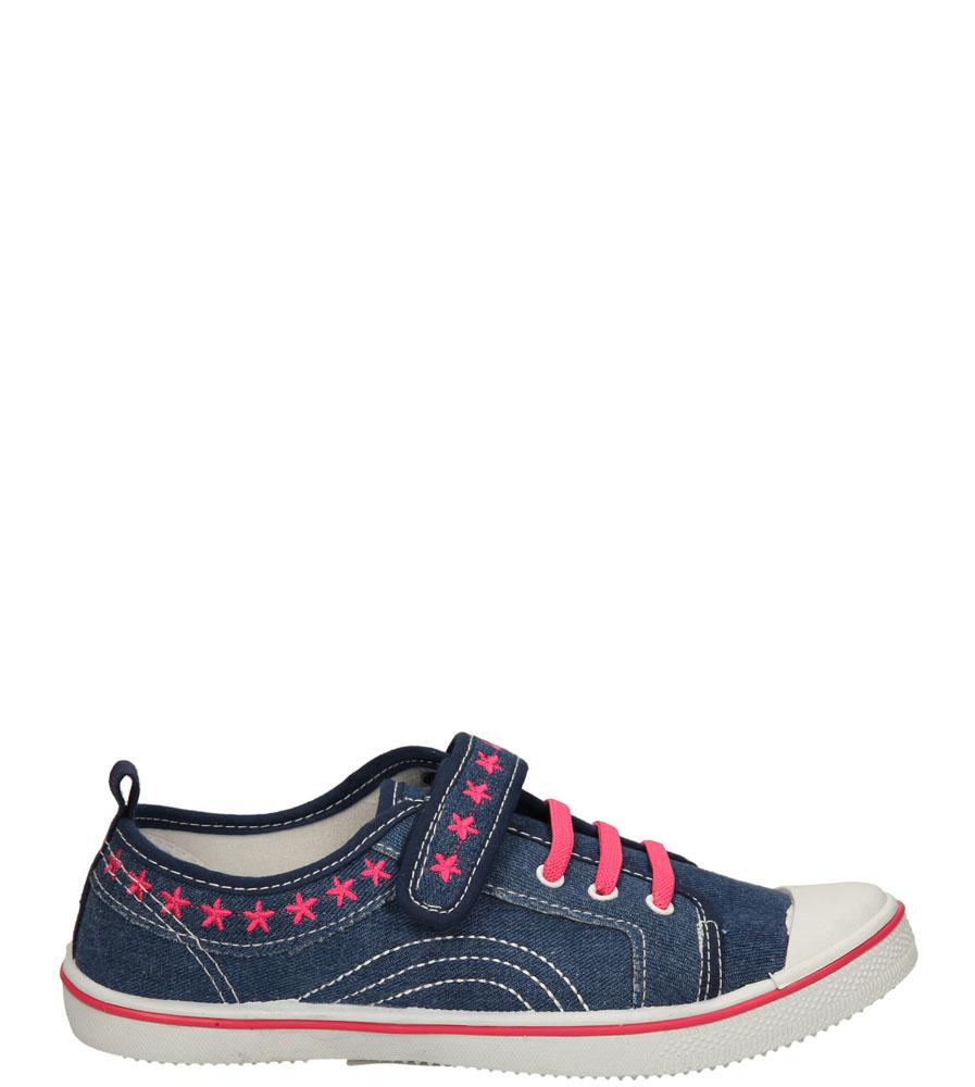 Dziecięce TRAMPKI T1773 niebieski;różowy;