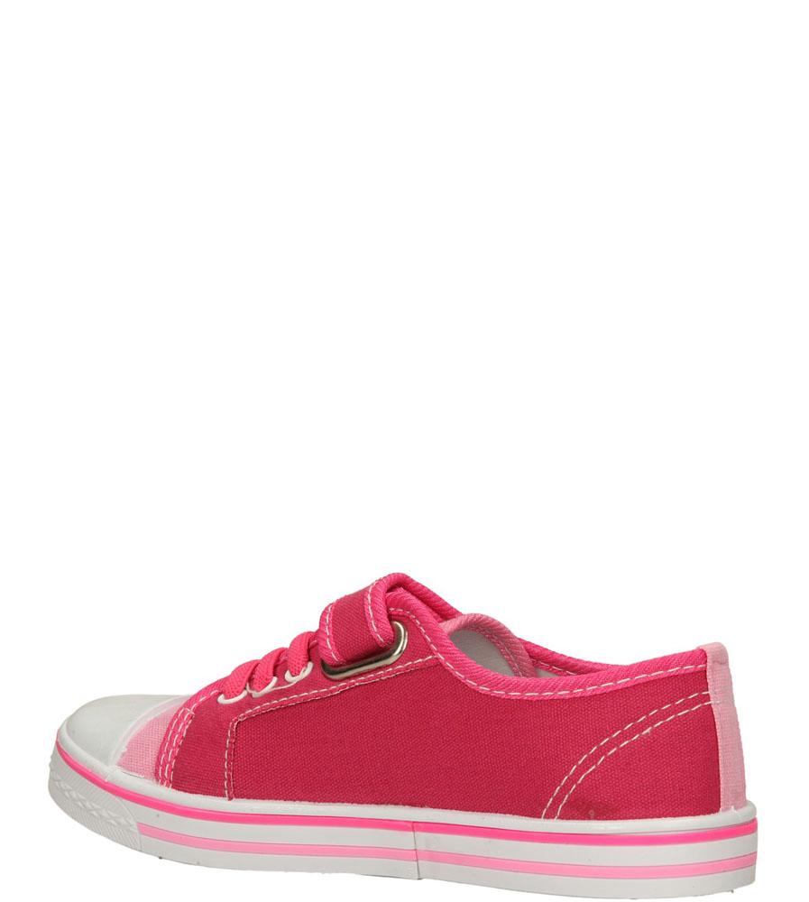 TRAMPKI T1771 kolor fuksja, różowy