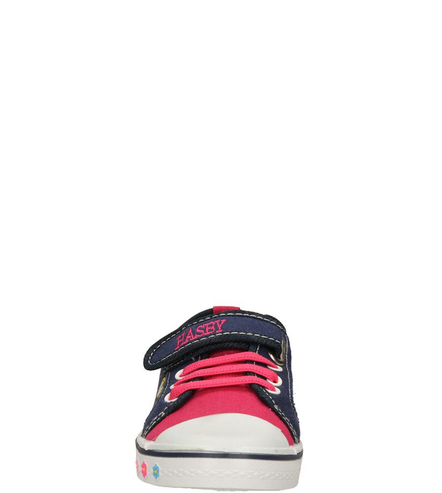 Dziecięce TRAMPKI T1771 niebieski;różowy;