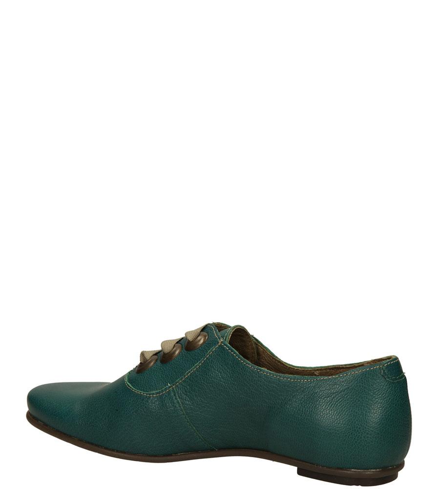 PÓŁBUTY FLY LONDON P6010820 kolor zielony