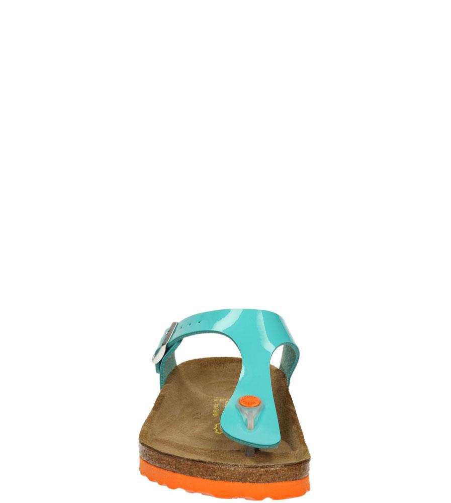 Damskie JAPONKI BIRKENSTOCK 745221 niebieski;;