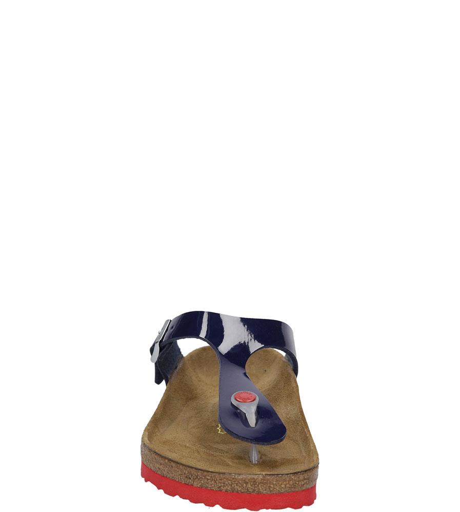 Damskie JAPONKI BIRKENSTOCK 845881 niebieski;;